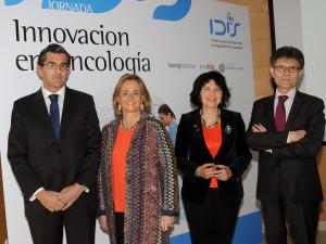 Juan Abarca, Margarita Alfonsel, Regina Revilla y Humberto Arnés