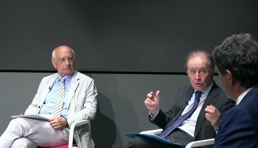 Martín Sellés, presidente de Farmaindustria, durante el coloquio de la Sociedad Española de Cardiología