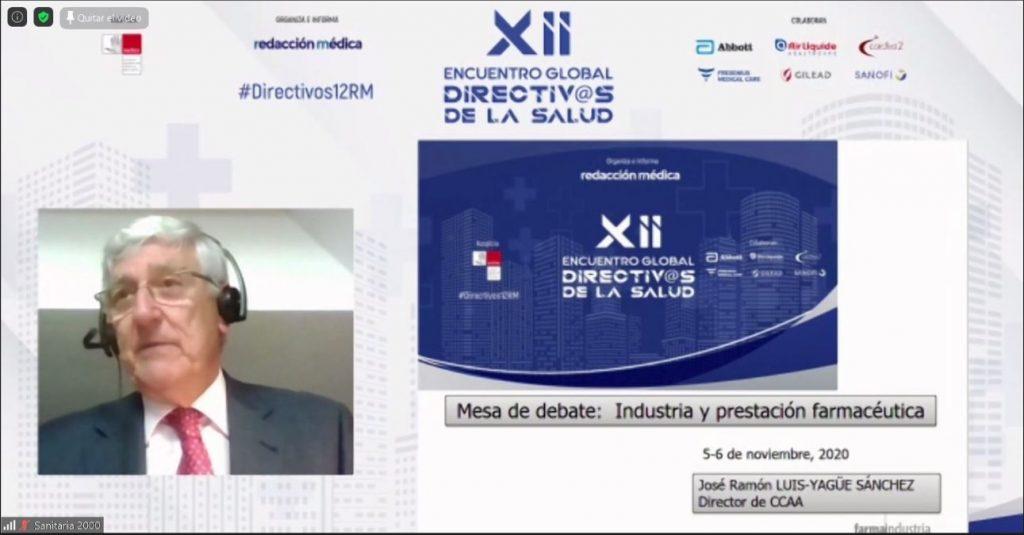 José Ramón Luis-Yagüe, director del Departamento de Relaciones con las CCAA de Farmaindustria.