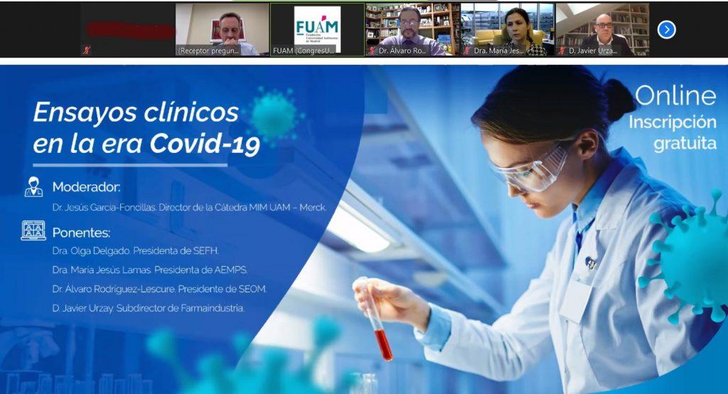 Imagen del foro sobre ensayos clínicos.