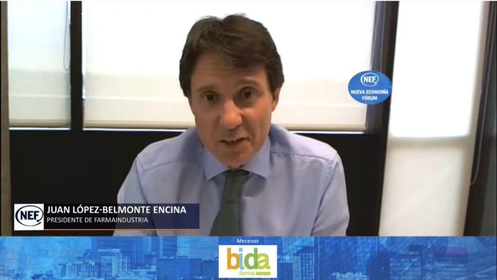 Juan López-Belmonte, durante su intervención en el Foro.